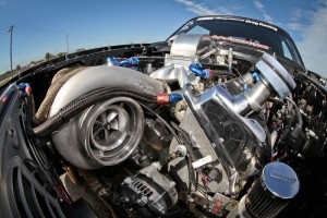 Chris Lancaster's Turbo 4.6 Mod Motor 8-Second '66 Street Mustang
