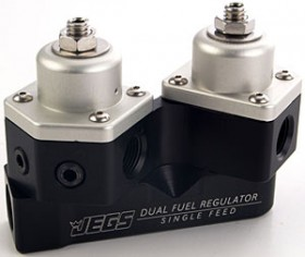 JEGS Introduces Single Inlet Dual Fuel Regulator
