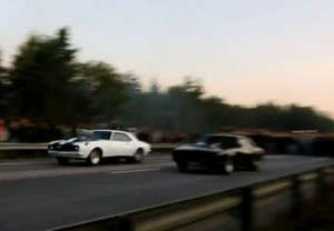 Video: Sweden's Huge Illegal Street Race Between Two Camaros