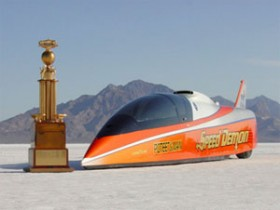 Boosted SBC 'Speed Demon' Streamliner Tops 462 MPH At Bonneville