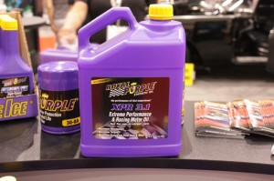 Royal Purple's XPR 3.1 Ultra Low Viscosity Racing Oil At SEMA