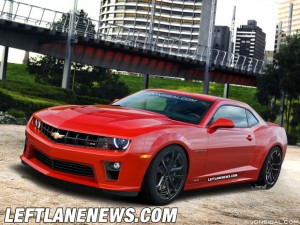 Left Lane News Renders '12 Camaro Z/28