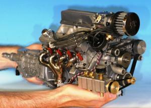 Check Out This Fully Functional, Supercharged Scale Model Engine