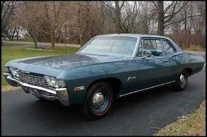 Extremely Rare '68 Biscayne to Grace the St. Charles Mecum Auction