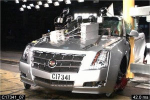 Cadillac SRX and CTS Receive a 5-Star Safety Rating