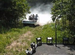 Video: Watch This Big-Block Powered Airboat Climb A Hill