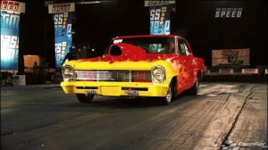 Wicked Weld Racing-Equipped '66 Chevy II on SPEED TV's Pass Time