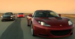 Video: Chevrolet Corvette Grand Sport vs. Lotus Evora vs. Porsche Cayman S
