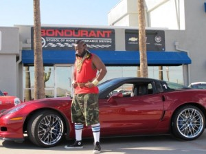 Mr. T Makes Off With Bondurants' ZR-1