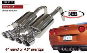 The New PRT C6 Exhaust From Billy Boat Exhaust
