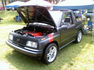 Swap Insanity: Corvette-Powered Geo Tracker