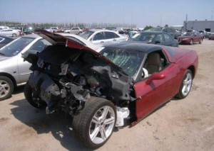 Wrecked Vette Wednesday: A Trashed C6, But The LS Engine Remains