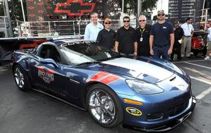 2011 Supersonic Blue GS Serves As Brickyard 400 Pace Car