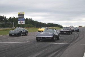 "Swedish Corvette Owners ""Exhibit Hard"" on the Racetrack"