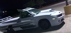 Pickup Meets Camaro and Corvette Body Kits, Confusion Ensues