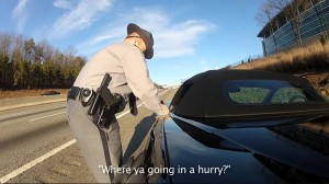 Video: GoPro Captures Speeding C6 Getting Busted by the Fuzz