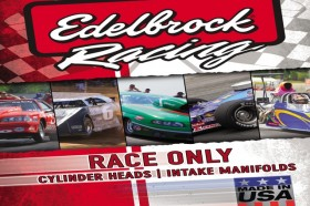 Edelbrock's 2010 Race Only Catalog