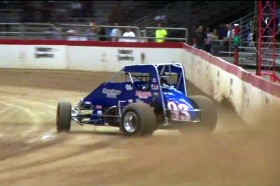 Video: 410 Sprint On The Smallest Oval We Have Ever Seen