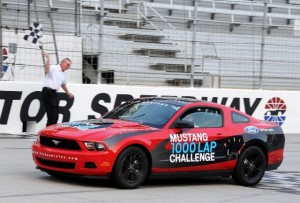 Mustang Averages 48.5 MPG at Bristol