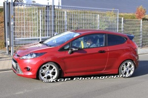 Spy Shots Of Ford Fiesta ST In Germany