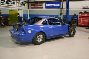 HP Solutions Readying Mustang Mach 1 For NMRA, NMCA Drag Radial