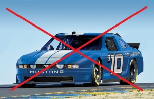 No Ford Mustang for NASCAR Sprint Cup After All