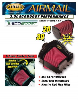 AIRAID Offering Ecoboost Cold-Air Intake System for the Ford F-150