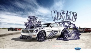 "Mustang Ad: ""If You Can Dream It, You Can Build It"""