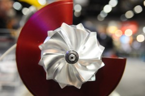 PRI 2010: Turbonetics HPC Billet Aluminum Compressor Wheels