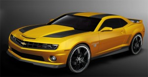 Bumblebee Camaro Returns to Chevy Showrooms