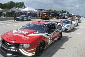Video: Rainy Run at Road America in a Grand Am Pace Camaro