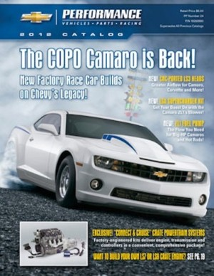 Pace Performance Offers Exclusive 2012 Chevrolet Performance Catalog