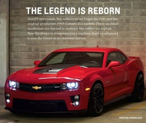 Official 2012 Camaro ZL1 Brochure Hits The Web