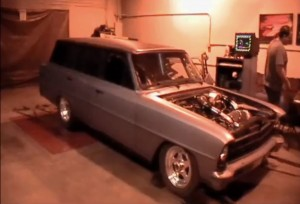 Video: Twin-Turbo 5.3L Nova Wagon on the Dyno
